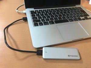 JetDrive720をMacへ接続